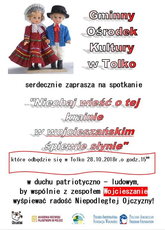 Ilustracja do informacji: Ludowy śpiew w Tolko