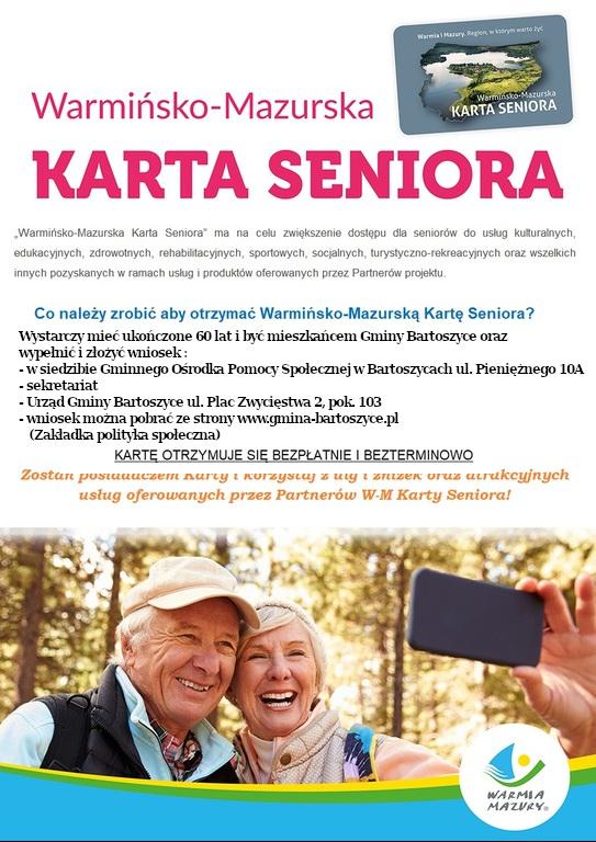 Baner: W-M Karta Seniora