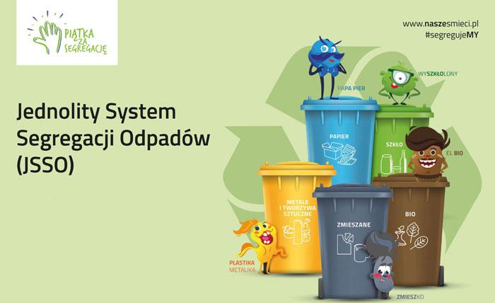 Ilustracja do informacji: Prawidłowa segregacja odpadów komunalnych