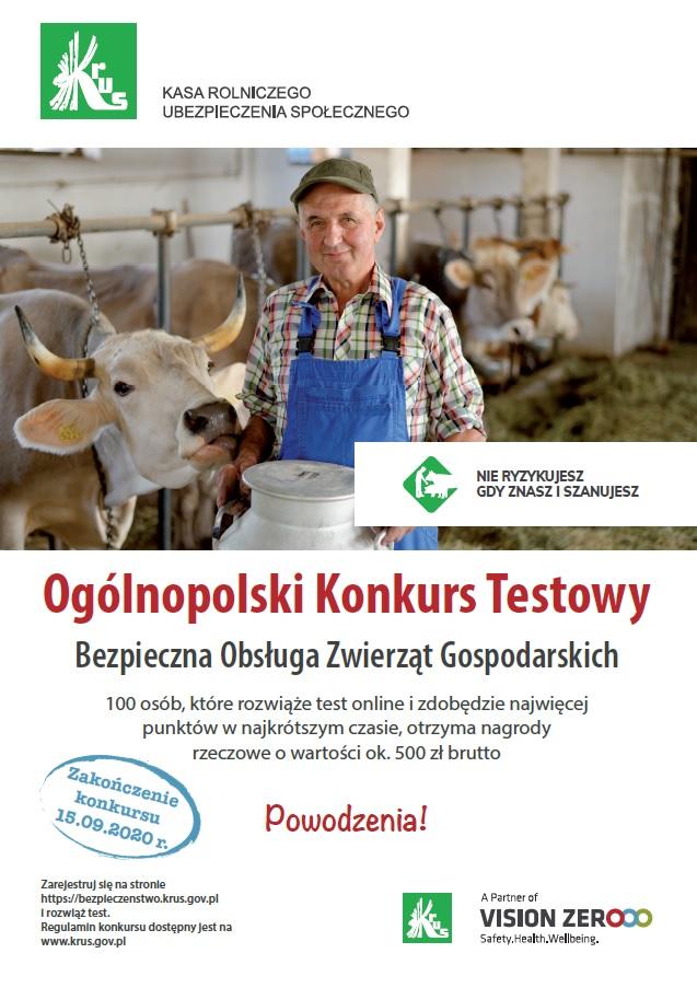 Ilustracja do informacji: Konkurs dla rolników