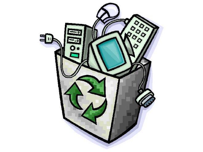 Ilustracja do informacji: Ogłoszenie o zbiórce gabarytów i elektroodpadów