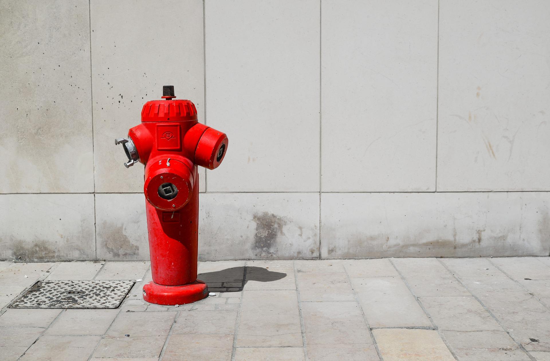 Ilustracja do informacji: Ogłoszenie o niekorzystaniu z hydrantów przeciwpożarowych